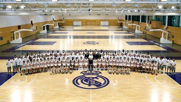 Ffoto oficial del Real Madrid de baloncesto de la temporada 2015/16