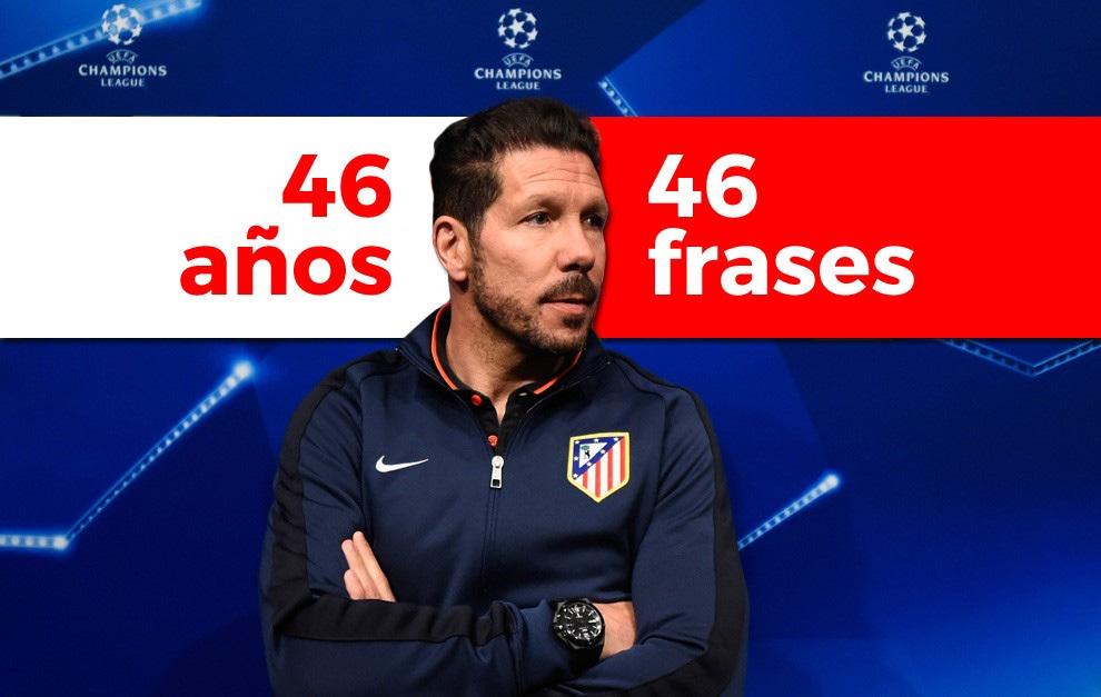 46 Frases De Simeone En Su 46 Cumpleanos Marca Com