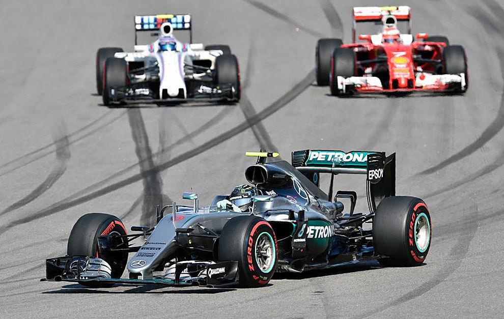 Nico Rosberg consiguió su cuarta victoria del año