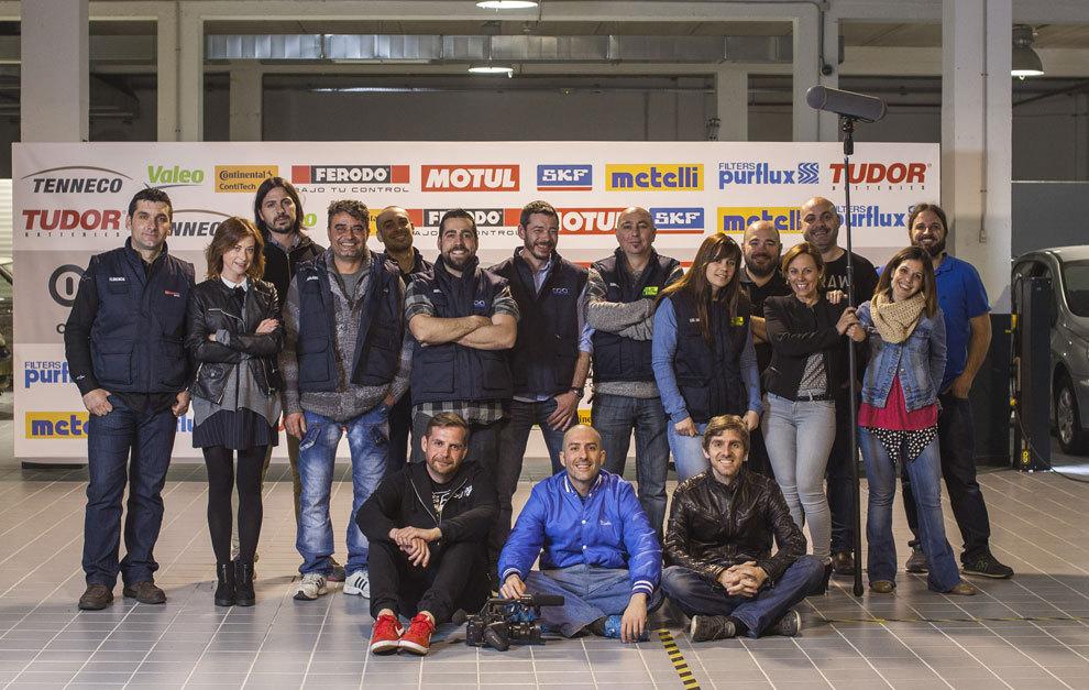 El equipo del canal ONmotor de Discovery MAX.