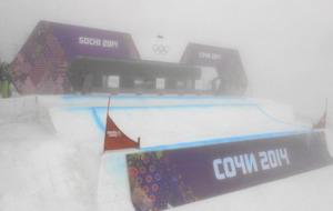 Cartel de los deportes de invierno de Sochi 2014
