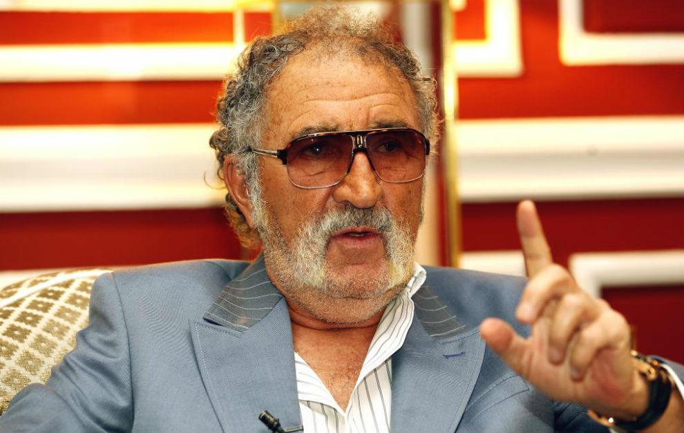 Ion Tiriac durante una entrevista concedida a MARCA.