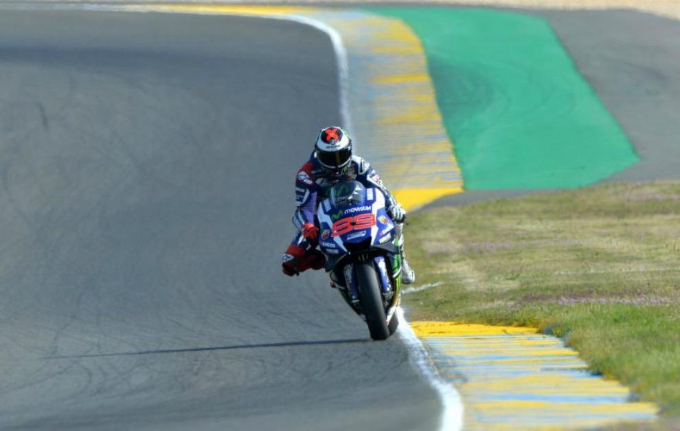 Jorge Lorenzo, solo en Le Mans