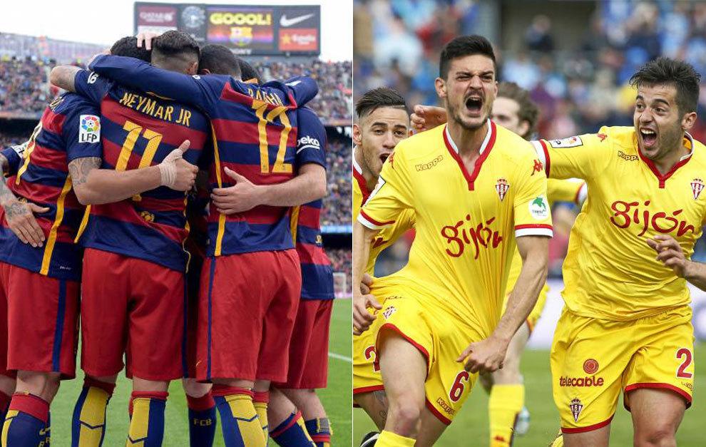 La afición ve campeón al Barça... y al Sporting en Primera