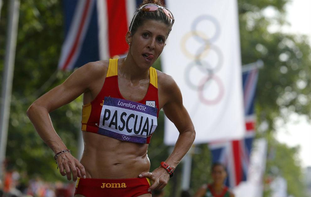 Beatriz Pascual, en los Juegos Olímpicos de Londres.