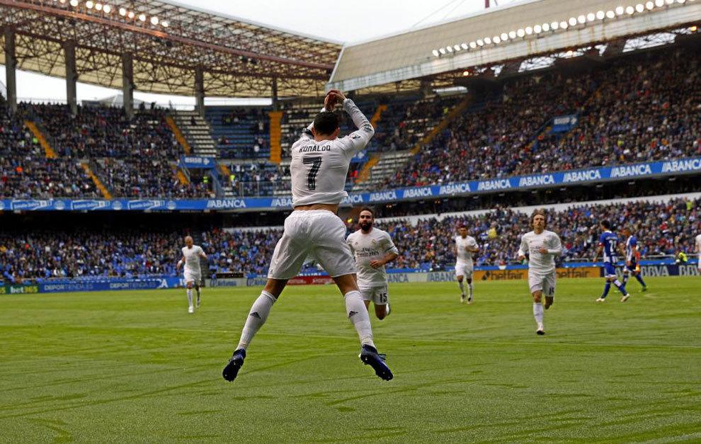 c8ca82e2537 Real Madrid  Cristiano superó los 50 goles por sexta temporada ...