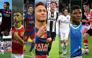 Su�rez, Jonas, Messi, neymar, Dybala, Cavani, Junior Fern�ndez y...