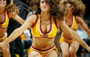 Cheerleaders Cleveland Cavaliers