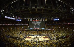 Espectacular visi�n del Quicken Loans Arena de Cleveland