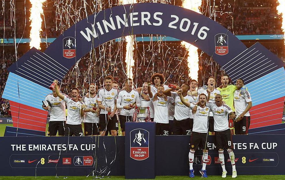 Manchester United win FA Cup final in extra-time | MARCA English