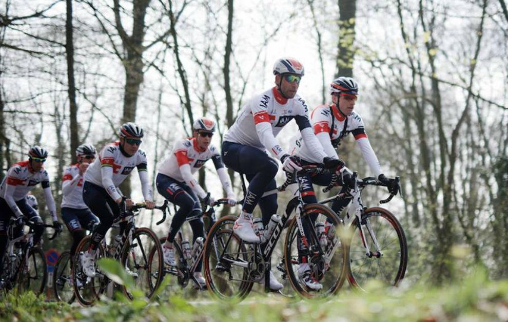 El IAM Cycling en una imagen de esta temporada.