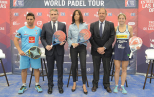Mat�as D�az, Javier Porras (World P�del Tour), B�rbara Fern�ndez...