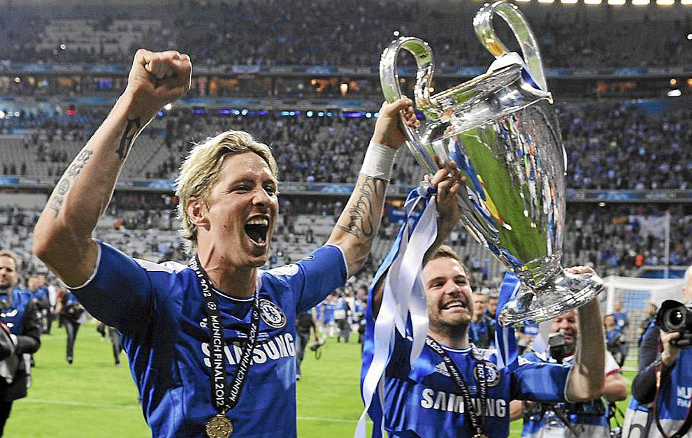 Image result for torres chelsea ucl title