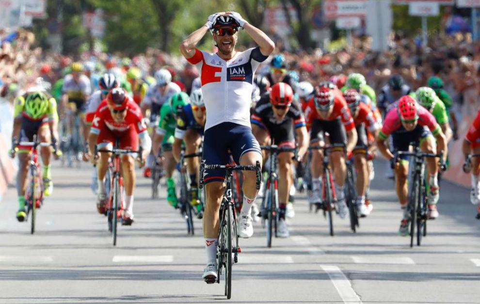 Roger Kluge no se creía que ganara la etapa.