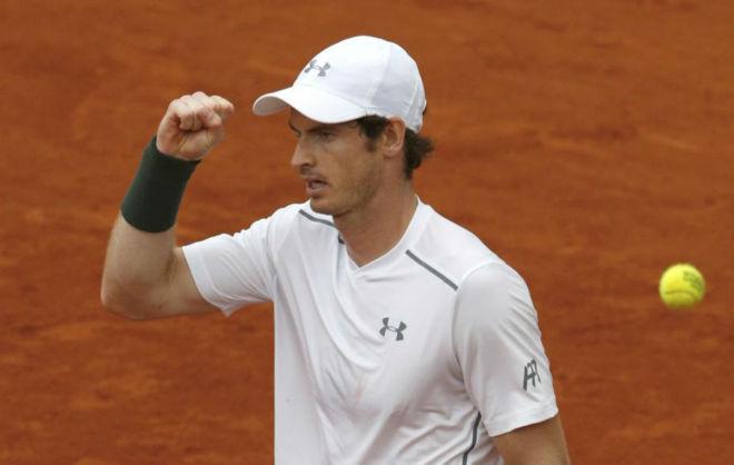 Murray celebra su triunfo