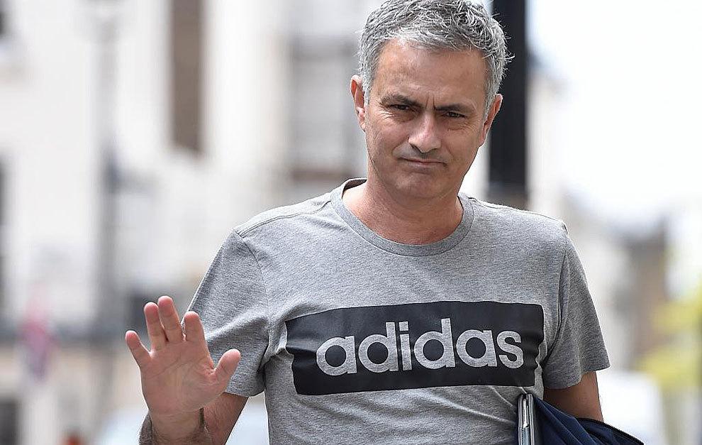 Mourinho este viernes en Londres.