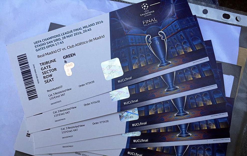Ticket Cl Finale 2021