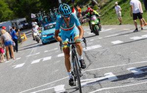 Nibali en la penúltima etapa del Giro de Italia