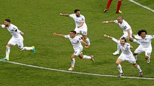 CR7 desató la locura tras su quinto gol en la tanda de penaltis