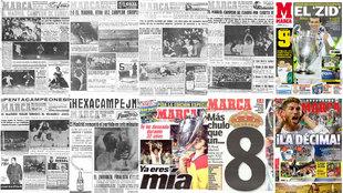 Repasa las once Copas de Europa del Real Madrid a través de las...