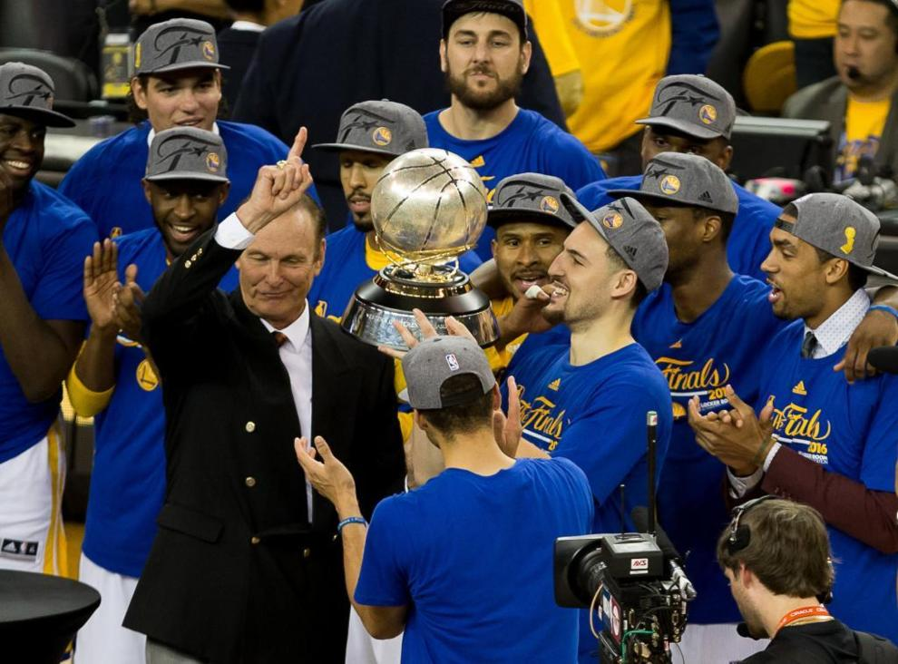Los Golden State Warriors campeones de la Conferencia Oeste