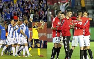 Leganés o Nástic acabarán la jornada del sábado en Primera...
