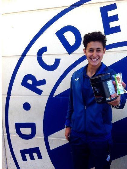 Elba Vergés, autora del gol ante el Fundacion Albacete.