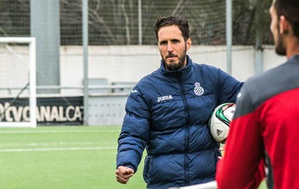 Planagumà, durante su etapa como entrenador del Espanyol B.