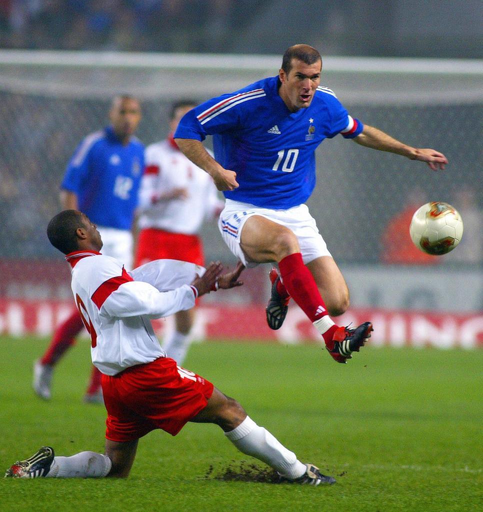 6. Zinedine Zidane