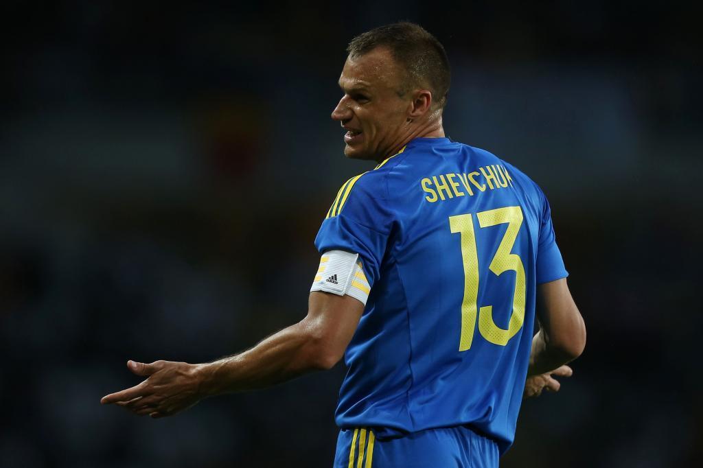 Shevchuk, con Ucrania.