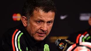 Osorio, en rueda de prensa.