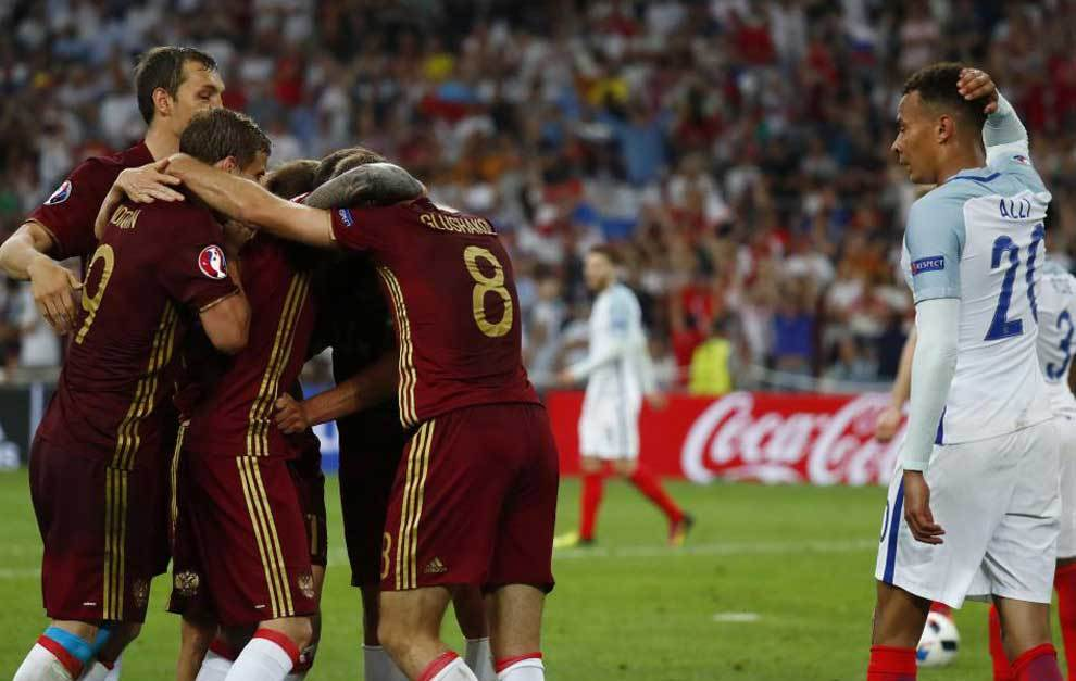 England Stunned By Late Russian Equaliser