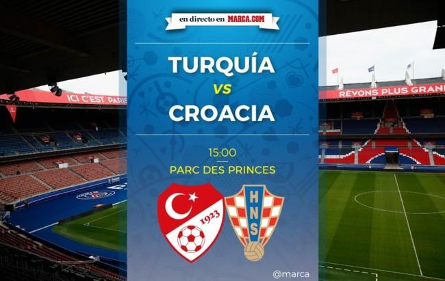 Turquía vs Croacia en directo