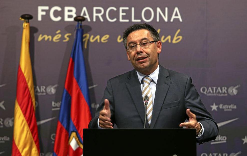 El Barça acepta el pacto y Bartomeu pondrá su cargo a disposición de los  socios e381766523c