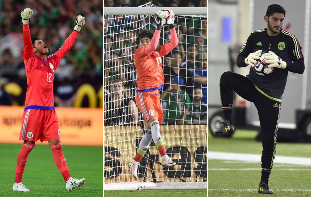 edec6c576 Copa América 2016  México sale a portero por partido