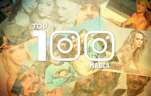 Top 100  de personajes m�s seguidos en Instagram. El listado del 100...