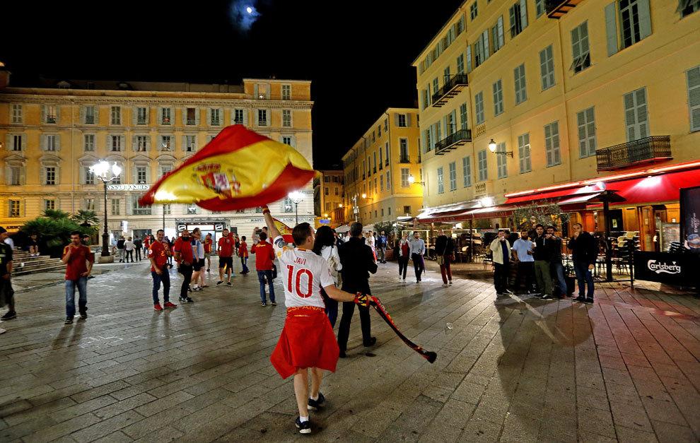La afición española se dejó sentir en Niza