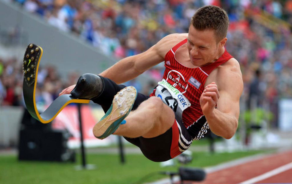 El atleta paralímpico Markus Rehm