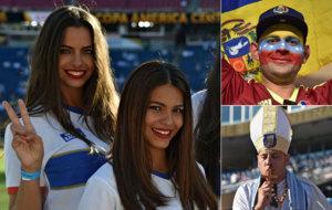 Los aficionados y aficionadas de Argentina y Venezuela vibraron con el...
