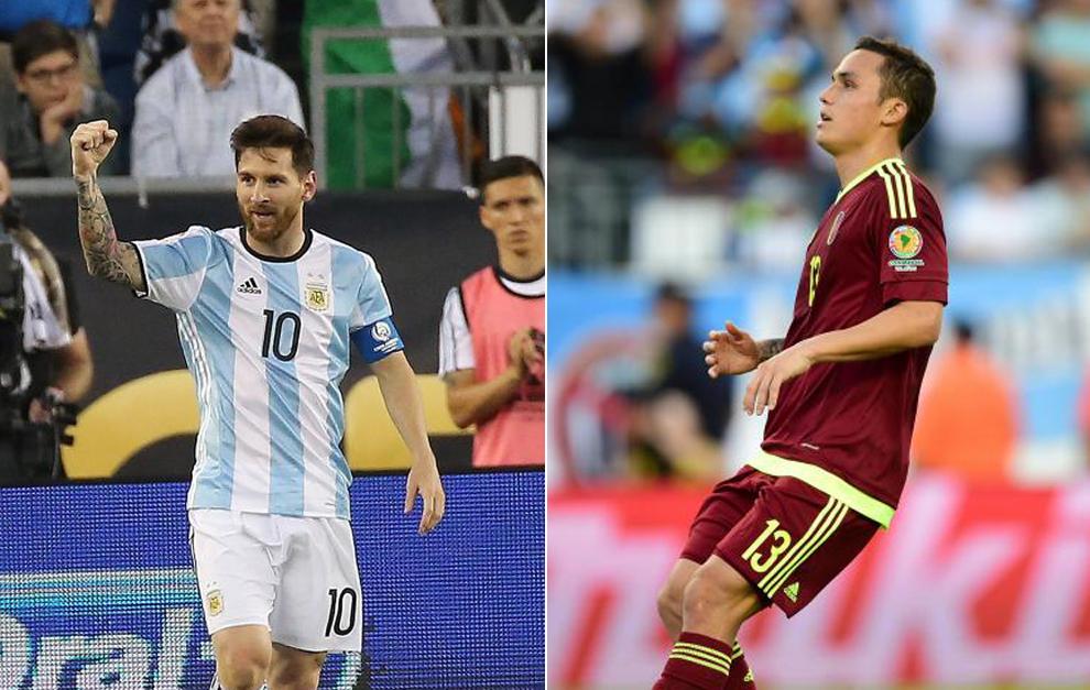 Messi y Seijas, las dos caras del encuentro.
