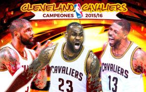Cleveland Cavaliers campeones de la NBA 2016