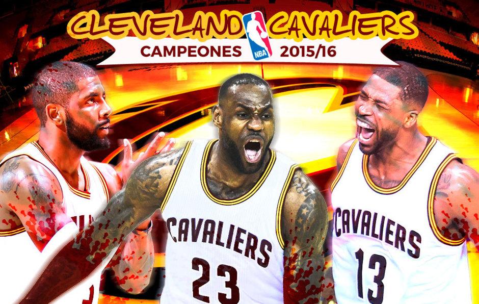 Cleveland Cavaliers campeones de la NBA 2016 44d0b573ad11b