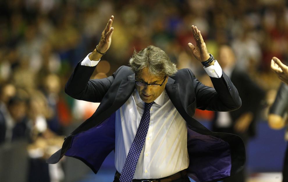 Luis Casimiro, entrenador del Baloncesto Sevilla