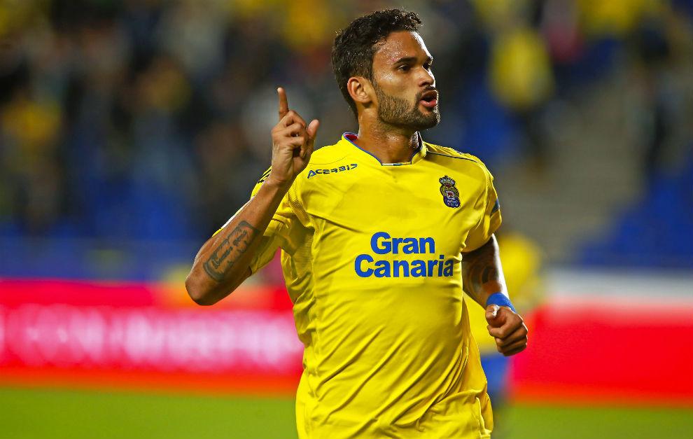 Willian José, celebrando un gol