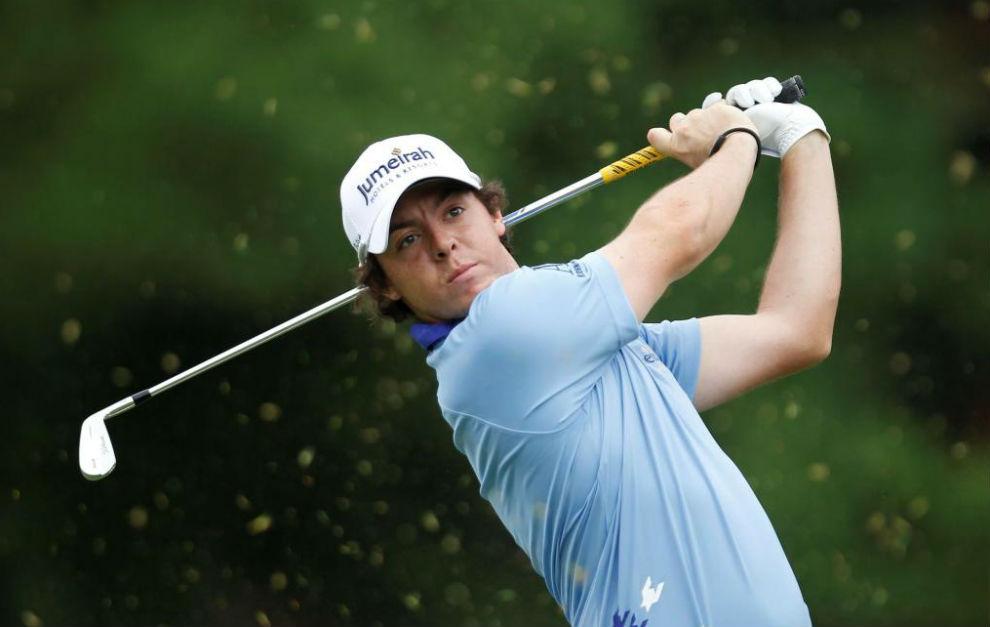 Rory McIlroy durante un torneo esta temporada.