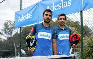 Pablo Lima y Fernando Belasteguin.