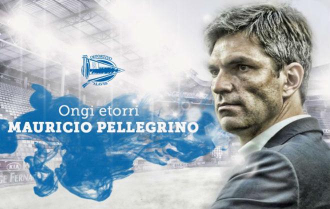 Imagen con la que el Alavés ha hecho oficial su nuevo entrenador