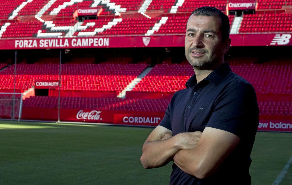 Diego Martínez posa para el fotógrafo de MARCA.