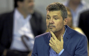 Marcelo Tinelli, vicepresidente de San Lorenzo y presentador...