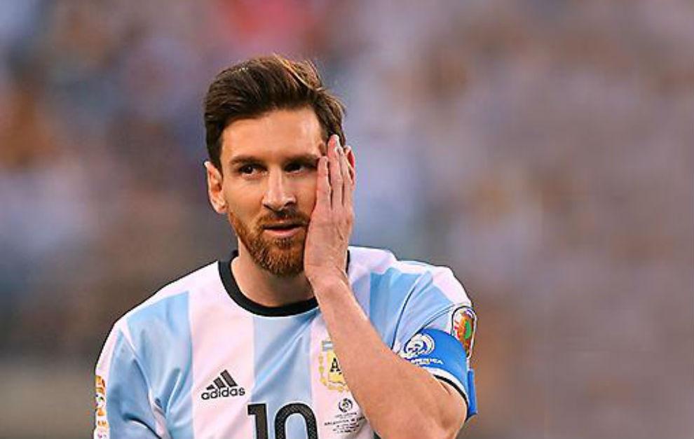 Messi, tras la derrota de Argentina contra Chile